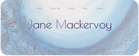 Screenshot of jane.mackervoy.com